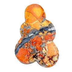 Natural 28.35cts malinga jasper cabochon 35x21 mm fancy loose gemstone s24653