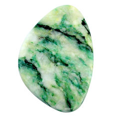 Natural 33.40cts mariposite green cabochon 33x22 mm fancy loose gemstone s24817