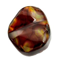 mexican fire agate cabochon 16x13.5 mm loose gemstone s16182