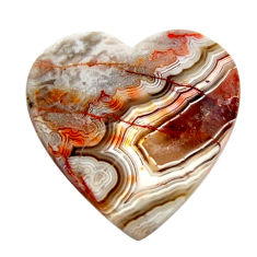 Natural 15.30cts mexican laguna lace agate 22.5x22.5 mm loose gemstone s17407
