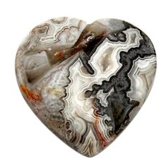 mexican laguna lace agate 22x22 mm loose gemstone s17413