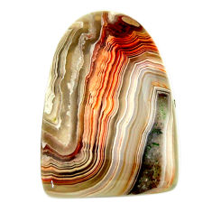 Natural 19.35cts mexican laguna lace agate 27x18 mm fancy loose gemstone s17427