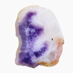 Natural 15.10cts mexican morado opal rough 27x18 mm fancy loose gemstone s18973