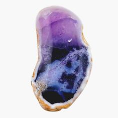 Natural 13.10cts mexican morado opal rough 28x14 mm fancy loose gemstone s18979