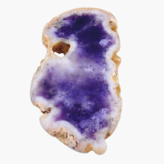 Natural 13.25cts mexican morado opal rough 31x17.5mm fancy loose gemstone s18978