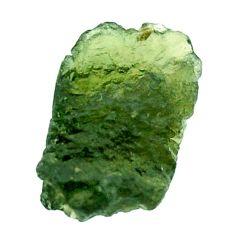 Natural 8.10cts moldavite (genuine czech) rough 16x11 mm loose gemstone s16082