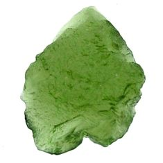 Natural 5.10cts moldavite (genuine czech) rough 16x12 mm loose gemstone s16108
