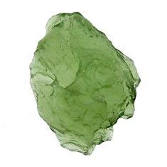 moldavite (genuine czech) rough 16x12 mm loose gemstone s16120