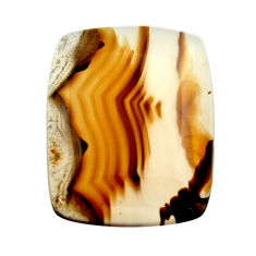 montana agate brown cabochon 24x19 mm loose gemstone s17531