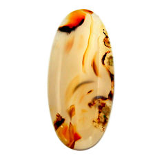 montana agate brown cabochon 33x15 mm loose gemstone s17507