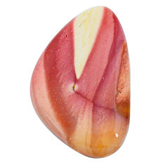 Natural 28.45cts mookaite brown cabochon 35x21 mm fancy loose gemstone s24841