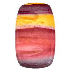 Natural 81.35cts mookaite brown cabochon 52x29 mm octagan loose gemstone s21882