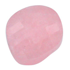 Natural 16.30cts morganite pink cabochon 16x15mm faceted loose gemstone s20548