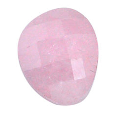 Natural 16.30cts morganite pink cabochon 17x14 mm faceted loose gemstone s20555
