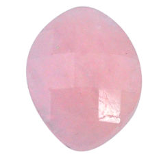 Natural 12.35cts morganite pink cabochon 19x14 mm faceted loose gemstone s20552