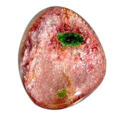 Natural 20.10cts muscovite purple cabochon 26x20 mm fancy loose gemstone s22391