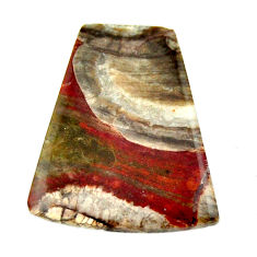 Natural 11.20cts mushroom rhyolite brown 23.5x20 mm fancy loose gemstone s17911