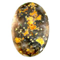 Natural 35.10cts ocean sea jasper cabochon 42x27 mm oval loose gemstone s21170