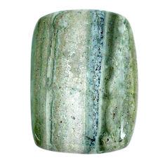 Natural 43.15cts opal green cabochon 32.5x23.5 mm octagan loose gemstone s20579