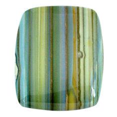 Natural 49.45cts opal green cabochon 33x26.5 mm octagan loose gemstone s20578