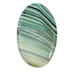 Natural 49.45cts opal green cabochon 48x28 mm oval loose gemstone s20570