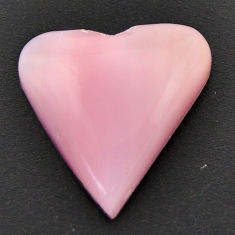 Natural 10.30cts opal pink cabochon 20x20 mm heart loose gemstone s17998