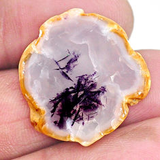 Natural 13.45cts opal purple cabochon 24x22.5 mm fancy loose gemstone s22776