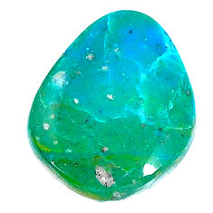 Natural 10.30cts opaline green cabochon 21.5x7 mm fancy loose gemstone s22753