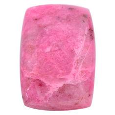 Natural 28.45cts petalite pink cabochon 29x19 mm octagan loose gemstone s23366