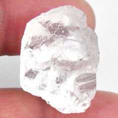 Natural 40.15cts petalite rough white rough 27x21 mm fancy loose gemstone s19943