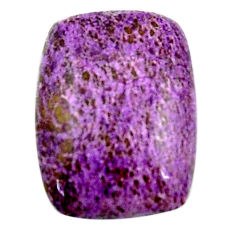 Natural 10.15cts purpurite purple cabochon 20x15mm octagan loose gemstone s18803