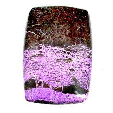 Natural 22.40cts purpurite stichtite purple 29x18.5 mm loose gemstone s22283