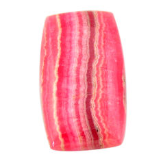 rhodochrosite inca rose pink 22x15 mm loose gemstone s17468