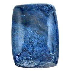 Natural 11.30cts rhodusite blue cabochon 22x14 mm octagan loose gemstone s23426