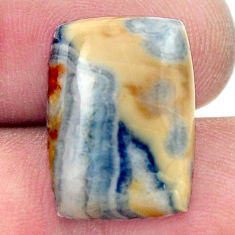Natural 10.10cts scheelite (lapis lace onyx) 17.5x12.5 mm loose gemstone s17630