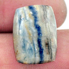 Natural 11.25cts scheelite (lapis lace onyx) 18.5x13.5 mm loose gemstone s17640