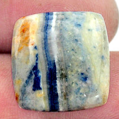 Natural 15.10cts scheelite (lapis lace onyx) 18.5x18 mm loose gemstone s17634
