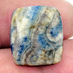 Natural 13.05cts scheelite (lapis lace onyx) 18x15.5 mm loose gemstone s17639