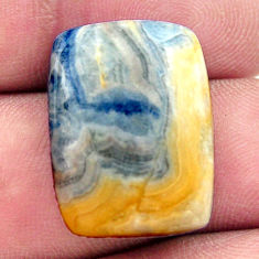 Natural 18.45cts scheelite (lapis lace onyx) 21.5x16 mm loose gemstone s17612
