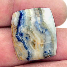 Natural 19.30cts scheelite (lapis lace onyx) 21.5x18 mm loose gemstone s17627