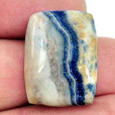 scheelite (lapis lace onyx) 21x16 mm loose gemstone s16388