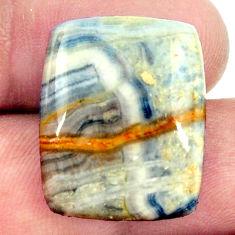 Natural 23.45cts scheelite (lapis lace onyx) 22x18 mm loose gemstone s16400