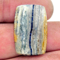 Natural 12.35cts scheelite (lapis lace onyx) 23.5x15 mm loose gemstone s17603