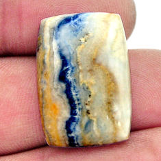 Natural 20.15cts scheelite (lapis lace onyx) 23.5x16 mm loose gemstone s17614