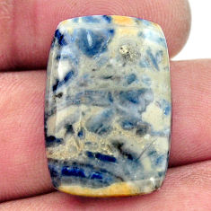 Natural 20.30cts scheelite (lapis lace onyx) 24x16.5 mm loose gemstone s17611