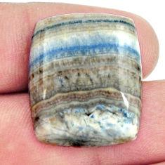 Natural 27.35cts scheelite (lapis lace onyx) 24x20 mm loose gemstone s16398