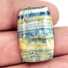 scheelite (lapis lace onyx) 28x18 mm loose gemstone s16399