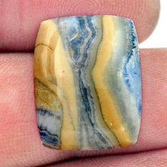 Natural 13.10cts scheelite (lapis lace onyx) blue 20x15 mm loose gemstone s17631