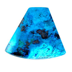 Natural 44.35cts shattuckite blue 36x33.5 mm fancy loose gemstone s19510