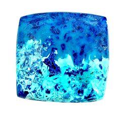 Natural 19.35cts shattuckite blue cabochon 19x19mm octagan loose gemstone s17024